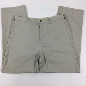 Banana Republic Pants Khaki Size 36R Brown Chino